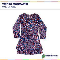 #Vestido Montmartre de Viva la Pepa #Moda #Nenas.  Para ver talles y comprar ¡Hacé click en la imagen!