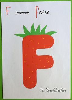 F comme fraise