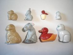 Kinder Surprise Set Domestic Animals with Babys 1997 Figures Toys Collectibles | eBay=533