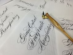 classic old style pointed pen. Lettering Design, Hand Lettering, You've Got Mail, Love Letters, Letter Designs, Letter Boxes, Inspirational Quotes, Calligraphy, Paper