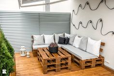 50 + 30 metrów kwadratowych - Taras, styl skandynawski - zdjęcie od Tak Po Prostu Wnętrza