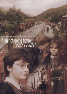 Hogwarts is my only home!