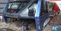 Bus Terbesar di Dunia TEB-1 Menjadi Nyata - Ayo Naik Bis   Stop Macet Dengan Naik Bus