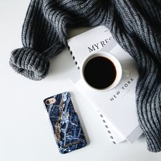 Midnight Blue Marble by lovely @emmamelins - Fashion case phone cases iphone inspiration iDeal of Sweden #marmor #blue #gold #navy #stone #fashion #inspo #iphone