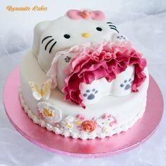 Wie Hello Kitty zur Prinzessin wurde Demnächst gibt es hier eine Anleitung wie ich Hello Kitty zur Prinzessin modellierte.  Für die Hello Kitty selbst habe ich die Silikon-Backform von Tupperware (klick) benutzt und die Grundform leicht abgewandelt.