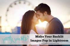Mastering beautifully backlit photos takes some practice with both shooting and editing. Even if your backlit shots are near perfect in camera, you will, most l
