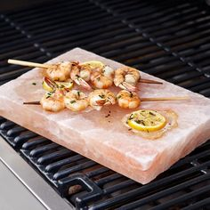 I bet salmon would taste amazing grilled on this Himalayan Salt Plate!