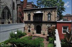 A carriage house in Mt. Vernon Baltimore -