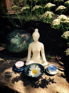 Simple goddess altar
