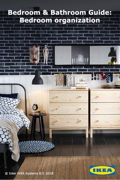 Create your own clothing storage with or without closets. Untreated wood chests and dressers are the perfect option for someone who wants to personalize their bedroom. Add paint or stain to make your storage blend right in.
