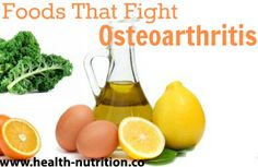 Top Tips for Fighting Osteoarthritis - Change your diet. The right diet can keep your joints in top form as you age.Add more sulfur-containing food like asparagus, eggs and garlic to your plate.They help repair and rebuild bone, cartilage and connective tissue, and aid in calcium absorption. Plenty of whole foods, such as vitamin K-rich leafy greens, have natural anti-inflammatory properties...READ MORE: http://www.health-nutrition.co/top-tips-for-fighting-osteoarthritis/