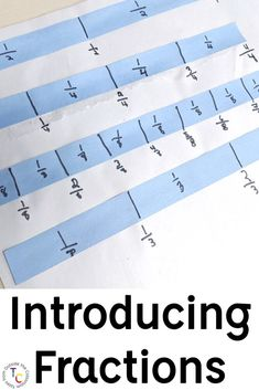 Build a concrete understanding with this introduction to fractions. Students explore fractions of a shape, fraction strips, with these hands-on resources. Comparing Fractions, Teaching Fractions, Equivalent Fractions, Third Grade Reading, Third Grade Math, First Year Teachers, New Teachers, 3rd Grade Classroom, Math Classroom