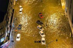 Curitiba tem encontro marcado com a chuva e sofre com alagamentos - Bem Paraná
