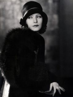 Greta Garbo photographed by Ruth Harriet Louise, late 1920's. Off Camera Stare