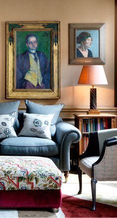 Charlotte Street hotel - London, United Kingdom. Taking the Bloomsbury Set for its inspiration, this London boutique hotel brings together fine art and a fresh colour palette to create the perfect city luxury stay.