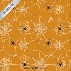 Patrón de tela de araña
