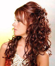Sexy Curly Hairstyle   @Norma Johnson Johnson Garcia @Maria Canavello Mrasek Canavello Mrasek Zachmann