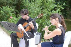 Un grand merci aux deux élèves du  conservatoire de musique d'Aix en Provence www.aixenprovence.fr/
