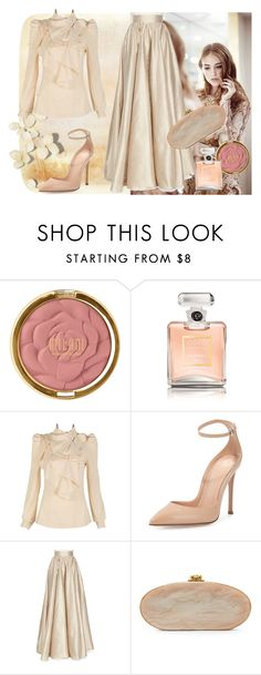 """""""1000"""" by jovana-p-com ❤ liked on Polyvore featuring Milani, Chanel, Gianvito Rossi, Jenny Packham, Edie Parker, women's clothing, women's fashion, women, female and woman"""