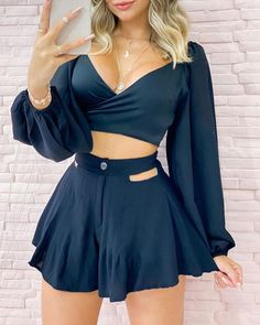Simple Outfits, Casual Outfits, Cute Outfits, Dress Outfits, Girl Outfits, Fashion Dresses, Trend Fashion, Look Fashion, Summer Dresses For Women