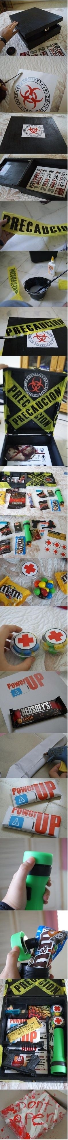 Zombie Survival Kit ... Might make this                              …