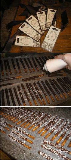 How To Step By Step for Pretzel Rods. - Continued!