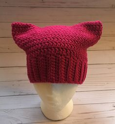 ae9866e991c Excited to share the latest addition to my  etsy shop  Pink Pussycat Hat.
