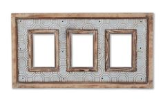 French Market Punch Triple Picture Frame