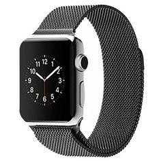 awesome Apple Watch Banda,Amytech 42mm Con Cerradura Imán Único Correa de Acero Inoxidable Reemplazo de Banda de la Muñeca para Apple Watch Todos los Modelos 42mm No Hebilla Needed