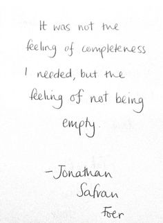THIS!!!  -Jonathan Safran Foer extremely loud and incredibly close