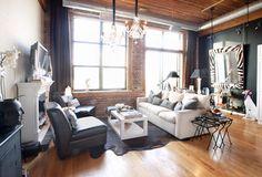 My Houzz: Modern Loft Living in Chicago