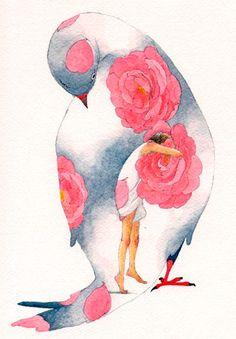 cosmic - lohrien: Illustrations byRie Nakajima