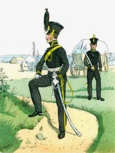 Ufficiale e artigliere del ducato di Brunswick