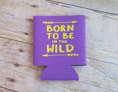 Born to be in the Wild Bonfire Camping Outdoors by StudioA2H