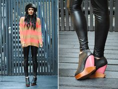 Turning tables. (by Kavita D) http://lookbook.nu/look/2627129-Turning-tables