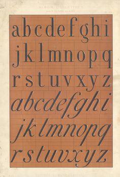 Album de lettres par N. Glaise, peintre.