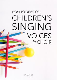 How to Develop Children's Singing Voices in Choir: The ins and outs of developing children?s singing voices in a choir setting - from vocal exploration to developing choral musicianship. Very helpful for children's choir directors and volunteers! Singing Games, Singing Lessons, Singing Tips, Music Lessons, Vocal Lessons, Learn Singing, Kids Singing, Piano Lessons, Coral