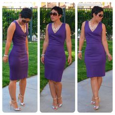 mimi g.: OOTD: #DIY Dress + BCBG Heels