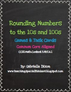 Rounding to 10s and 100s