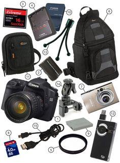 Accesorios camara fotografica