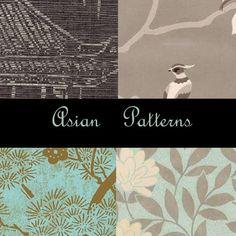 Asian Photoshop Patterns by eMelody.deviantart.com