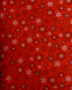 Cotton fabric, Quilt, Craft, Christmas, Snowflakes, Holly Jolly 3 by Kaufman, ,fast ship HC133