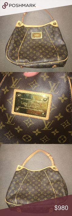 LV Galliera PM Monogrammed Galliera PM hand bag! Received as a Christmas gift I just no longer need it. I'm a college student who has bills to pay instead of carrying around a LV bag ); The purse is in great condition as if the leather. Can take less on different apps! Louis Vuitton Bags Shoulder Bags