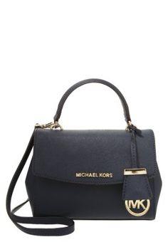 Köp MICHAEL Michael Kors BEDFORD - Handväska - navy för 1595,00 kr (2015-11-20) fraktfritt på Zalando.se