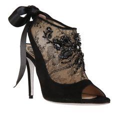 Rene Caovilla half boots