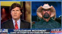 """Fox's """"Moran"""" Extremist Sheriff Clarke Suggests Protesters Should Be 'Hit First And Hit Hard' http://crooksandliars.com/2016/03/fox-s-extremist-sheriff-clarke-suggests"""