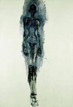 Alberto Giacometti, Grand nu vers 1961 Huile sur toile x on ArtStack Alberto Giacometti, Figure Painting, Painting & Drawing, Plastic Art, Sculpture, Life Drawing, Figurative Art, Art Museum, Printmaking