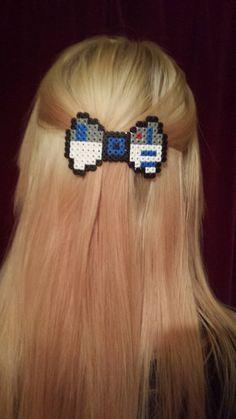 Star Wars R2D2 Themed Barrette Hair clip Bow