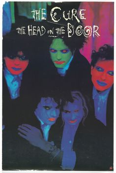 Porl Thompson and Andy Vella. The Cure, Head on the Door. Room Posters, Poster Wall, Poster Prints, Wall Prints, The Cure Band, Concert Rock, Arte Punk, Rock Band Posters, Punk Poster