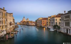 Venice at blue hour - .